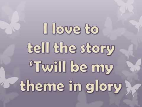 I Love to Tell the Story By Alan Jackson