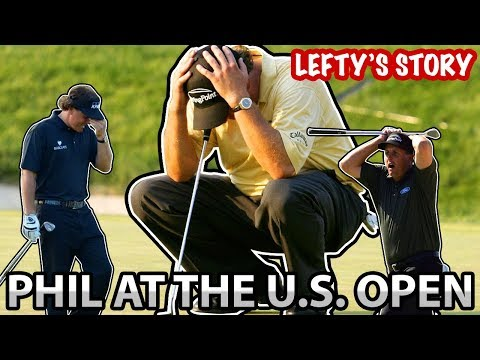 PHIL MICKELSON -  STORY AT THE U.S. OPEN