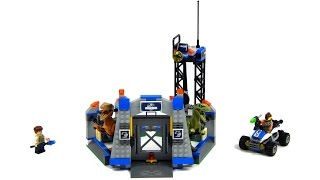 Lego Jurassic World 75920 Raptor Escape Speed Build And Review
