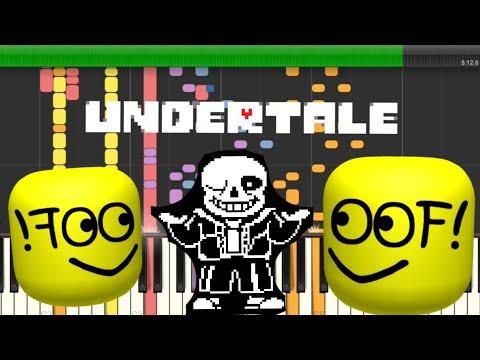 Undertale - Megalovania Using Roblox Death Sound!!