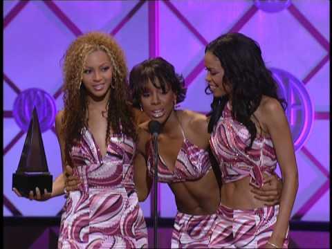 Destiny's Child wins Favorite Soul/R&B Band/Duo/Group Award -- AMAs 2001