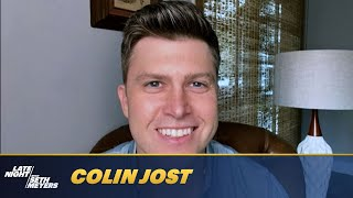 Colin Jost on Marrying Scarlett Johansson and SNL's After Parties