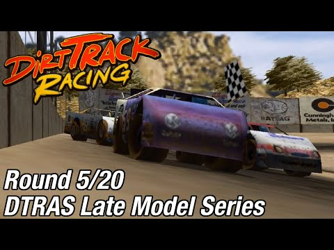Dirt Track Racing (PC) - DTRAS Late Model Series @ Aztec Speedway [Rd 5/20]