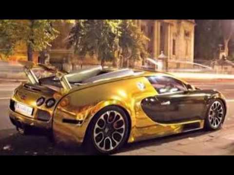 bugatti veyron gold edition - youtube