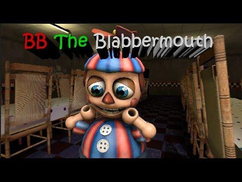 [SFM] FNAF - BB The Blabbermouth!