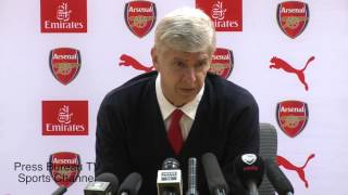 Arsene Wenger pre Watford vs Arsenal