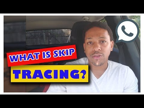 What Is Skip Tracing?