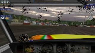 Max having fun with Dirt Track Racing 2