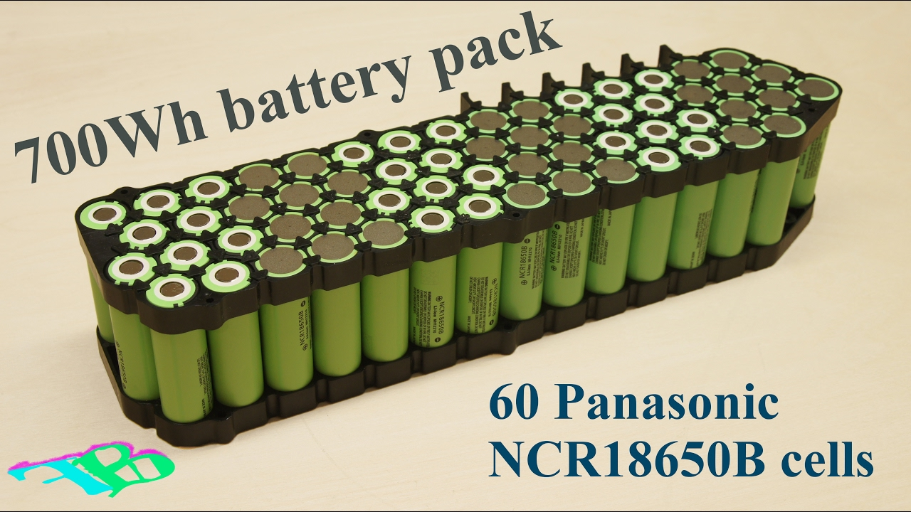 Diy Battery Pack E Bike Part Ii 18650 Cells Youtube