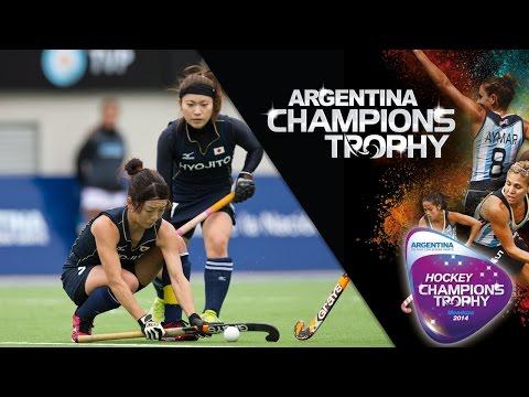 China vs Japan - Women's  Hockey Champions Trophy 2014 Argentina Group A [30/11/2014]