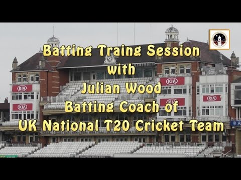 Batting Training Session with Julian Wood - Batting Coach of UK National T20 Cricket Team