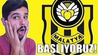 OHAA RONALDO GELDİ! - Yeni MalatyaSpor Kariyeri - FİFA 18 #1