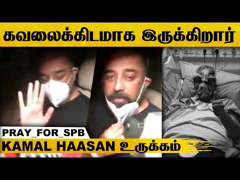 S.P.பாலசுப்ரமண்யம் நலமாக இருக்கிறார் என சொல்ல முடியாது - கமல்ஹாசன் உருக்கம்..! | Pary For SPB | HD