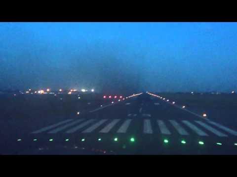 Landing at Dar Es Salaam Airport DAR