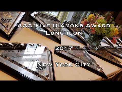 AAA Five Diamond Award Luncheon NYC