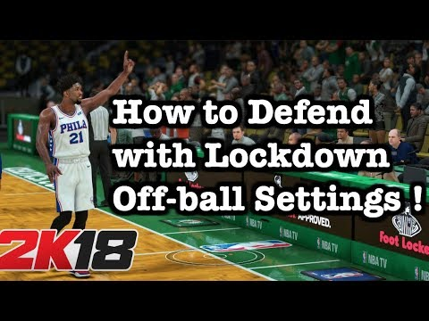 NBA 2K18 Best Defense Tips  2K18 Defensive Settings Tutorial. How to defend 2K18 tutorial #15