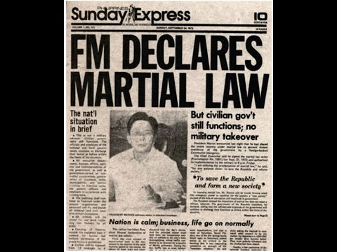 ★ Why Martial Law Declared in the Philippines ★