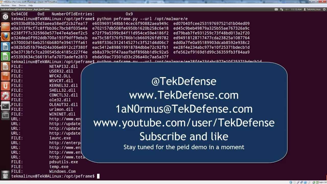 TekDefense - News
