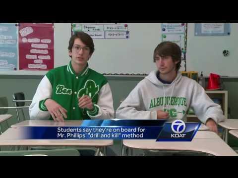 VIDEO: Albuquerque High students earn perfect scores on AP calculus exams