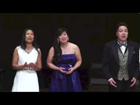 Mozart's opera duets and trio