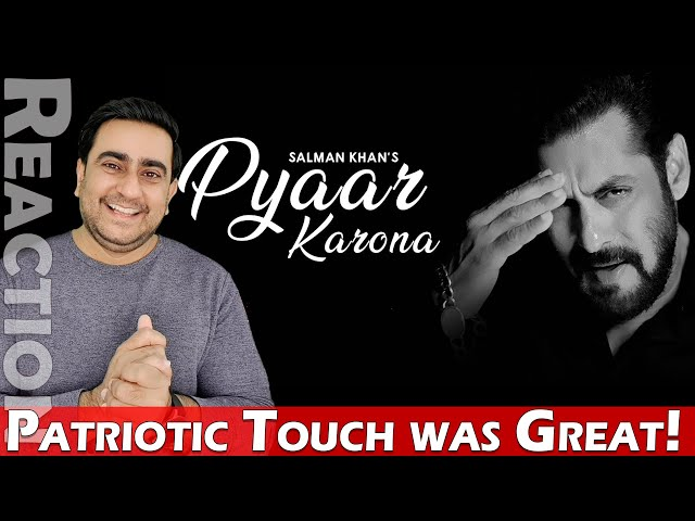 Pyaar Karona Reaction & Review | Salman Khan | Sajid Wajid | IAmFawad