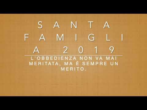 Santa Famiglia 2019