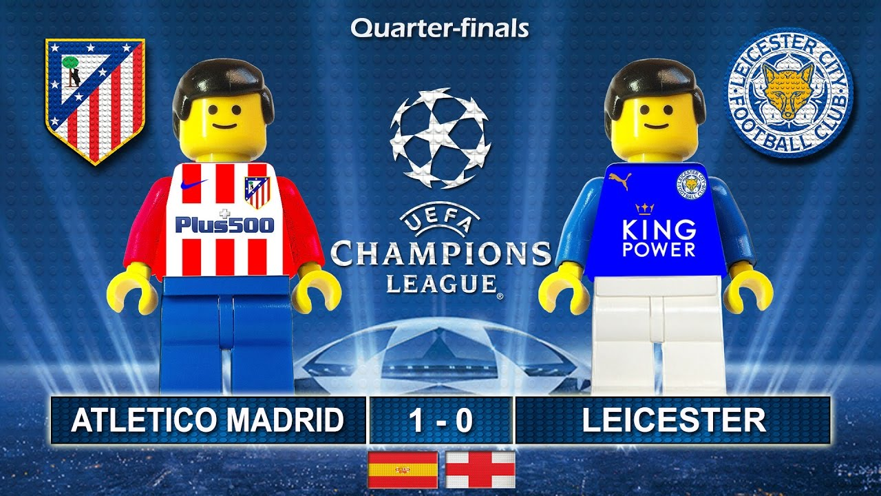 Download Atletico Madrid vs Leicester City 1-0 • Champions League 2017 (12/04/2017) Goals Lego Football