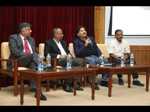"""A session on - """"Disruption in the Services Sector"""" on 25th March, 2017 at IIMB auditorium"""