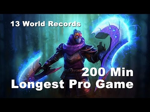 200 Min Longest Pro Game - Cloud9 vs SFZ Dota 2