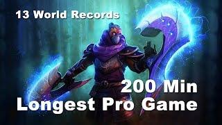 200 Min Longest Pro Game - Cloud9 vs SFZ Dota 2