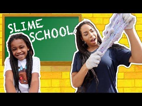Slime School Homework Fail! Teacher and Students Sneak In Class - New Toy School