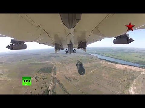 Imágenes exclusivas: prueba de bombardeo del caza Su-24 de la Fuerza Aérea rusa