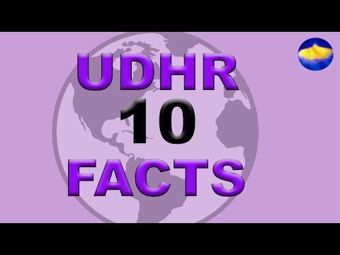 Universal Declaration of Human Rights: 10 Facts S1 E10 #TeamDignity