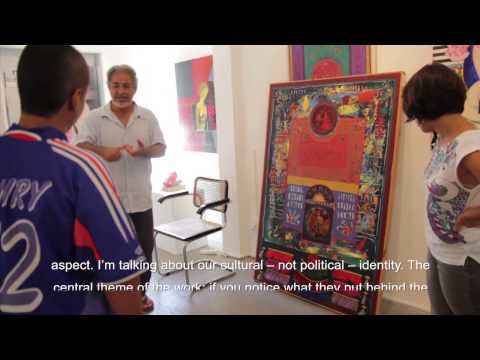Introduction to Palestinian Art Youth Project