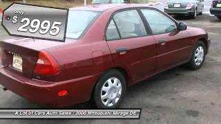 2000 Mitsubishi Mirage DE Neptune City NJ 07753