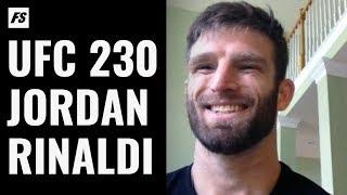 UFC 230's Jordan Rinaldi Talks Jason Knight Matchup, Injuries & Drop To 145-Pounds