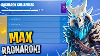 I UNLOCKED MAX TIER RAGNAROK In Fortnite Battle Royale