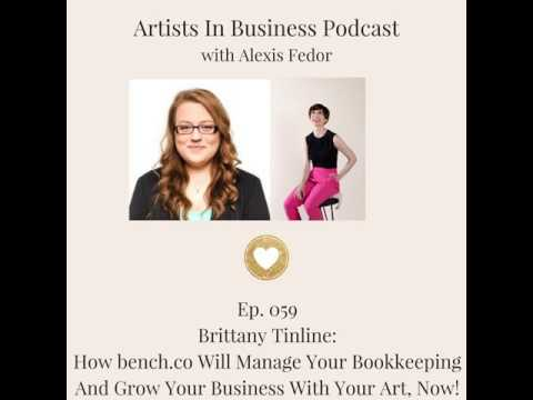 Ep. 059- Brittany Tinline: How bench.co Will Manage Your Bookkeeping And Grow Your Business With...