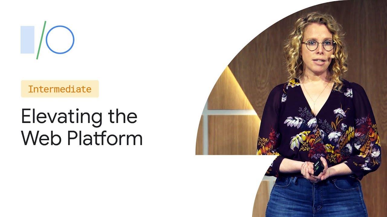 Elevating the Web Platform with the JavaScript Framework Community (Google I/O '19) image