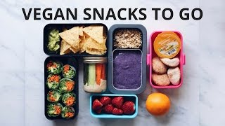 HEALTHY VEGAN SNACKS TO GO