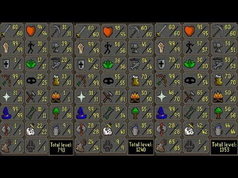 60 Attack Builds finished, GUIDE (Maxed Pure, Rune Pure and Piety 70def) OSRS