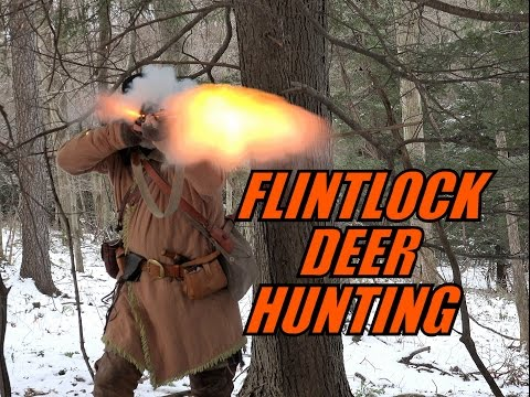 Traditional Flintlock Muzzleloader Deer Hunting - Pennsylvania 2017