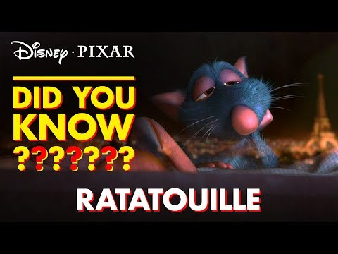 Pixar Did You Know?   Facts About Ratatouille