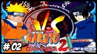 Naruto Clash of Ninja 2 -  Naruto Clássico Vs Sasuke Clássico luta insana【1440p 60FPS】