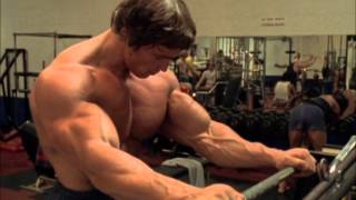 Arnold explain the greatest feeling you can have in the gym, the pump!