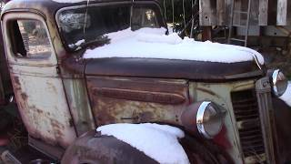 we will rescue a 1938 GMC