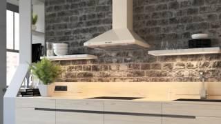 Кухонная вытяжка ELEYUS KVINTA - видео обзор купольной вытяжки