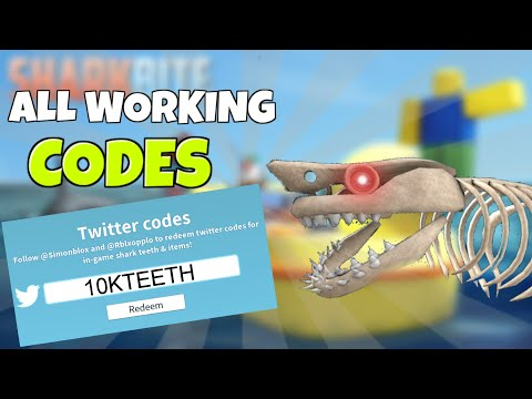 All Working codes for Sharkbite 2020