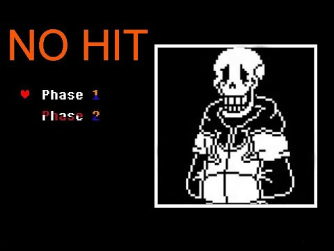 TS!Underswap papyrus fight phase 1 no hit