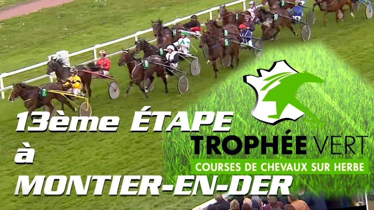 Trophée Vert 2019 - 18 AOUT - Hippodrome MONTIER-EN-DER - YouTube